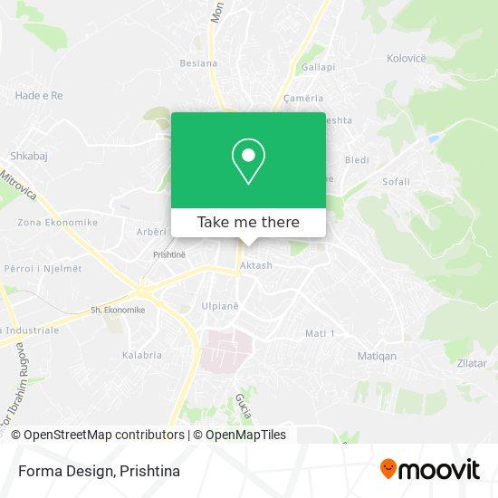 Forma Design map