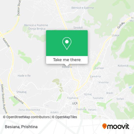 Besiana map