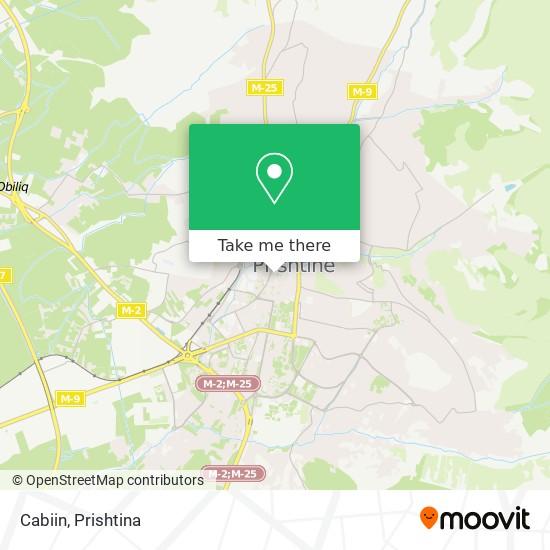 Cabiin map