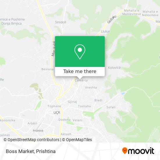 Boss Market map