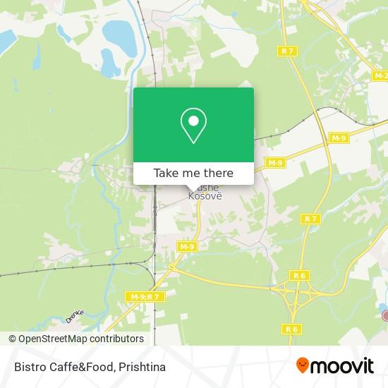 Bistro Caffe&Food map