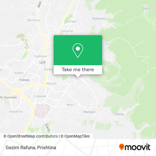Gezim Rafuna map