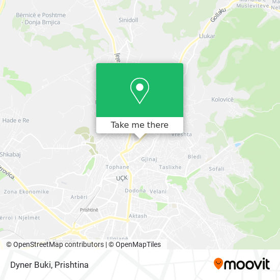 Dyner Buki map