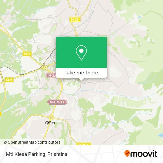 Mti Kiesa Parking map