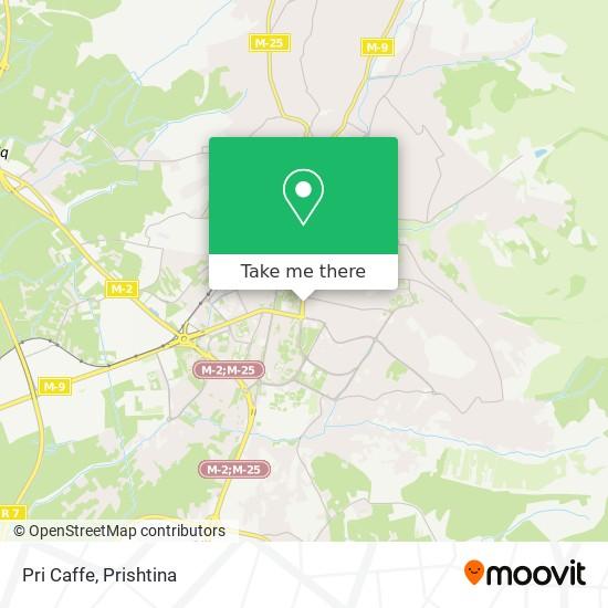 Pri Caffe map