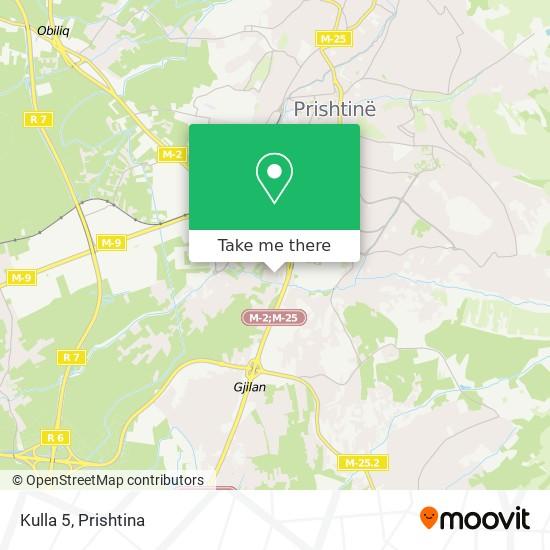 Kulla 5 map