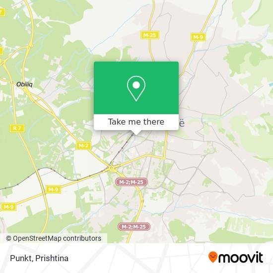Punkt map