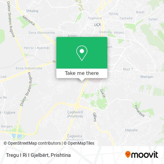 Tregu I Ri I Gjelbërt map