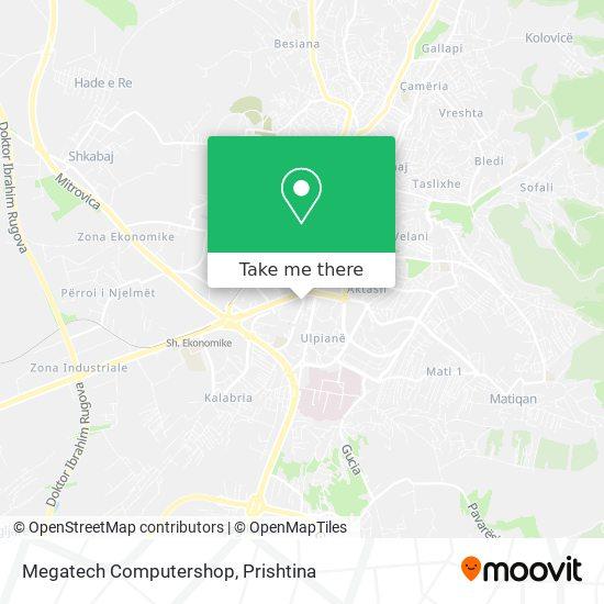 Megatech Computershop map