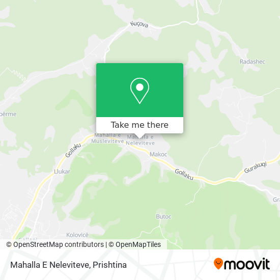 Mahalla E Neleviteve map