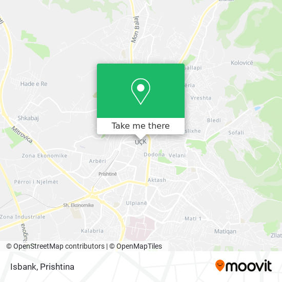 Isbank map