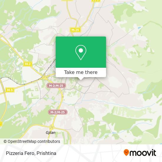 Pizzeria Fero map