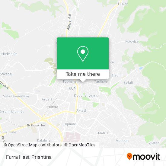 Furra Hasi map