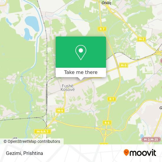 Gezimi map