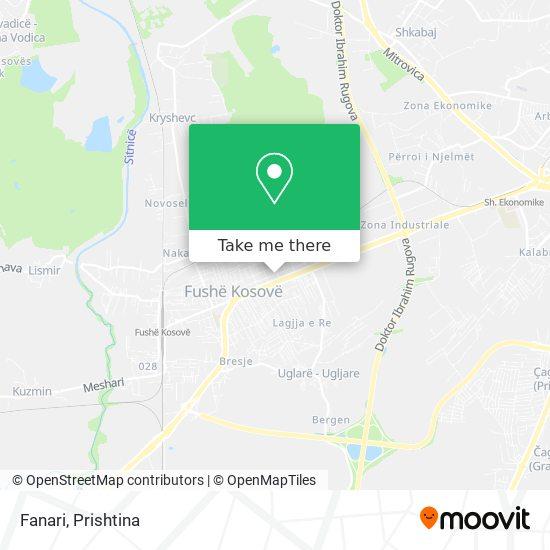 Fanari map