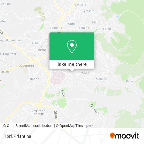 Ibri map
