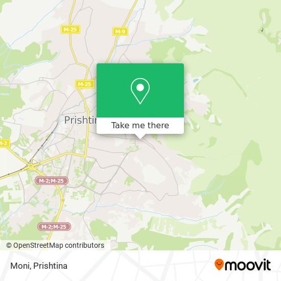 Moni map