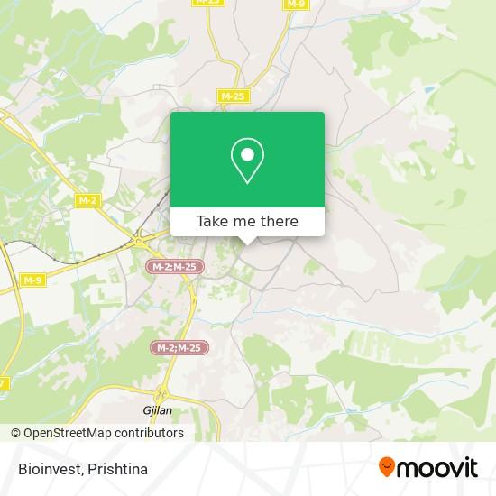 Bioinvest map