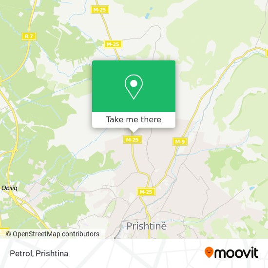 Petrol map