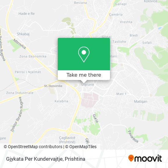 Gjykata Per Kundervajtje map