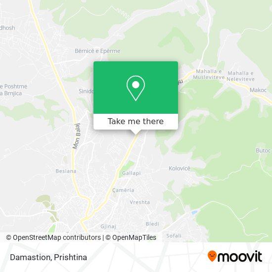 Damastion map
