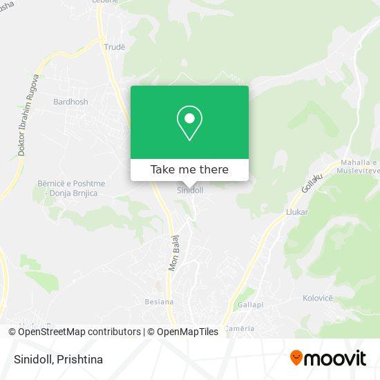 Sinidoll map