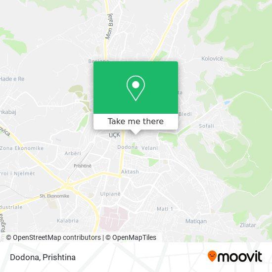 Dodona map