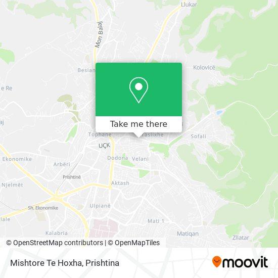 Mishtore Te Hoxha map