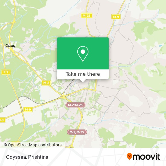 Odyssea map