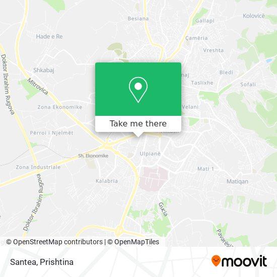 Santea map