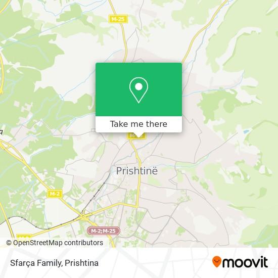 Sfarça Family map