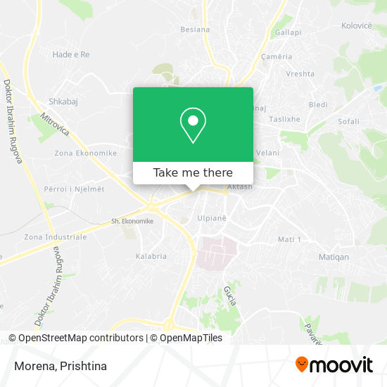 Morena map