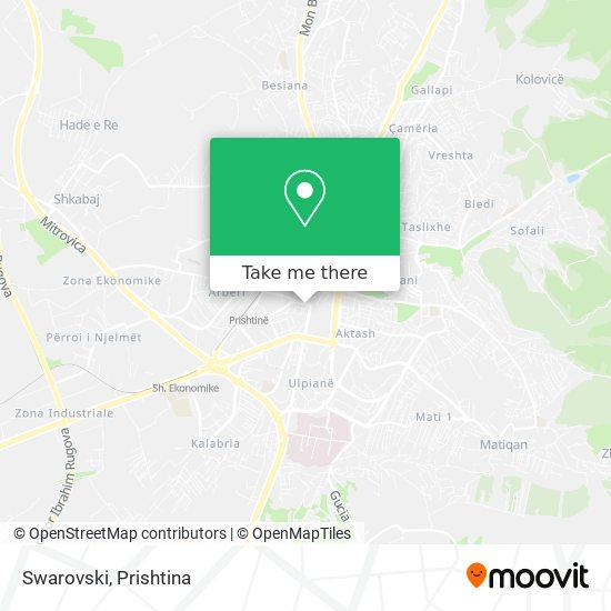 Swarovski map