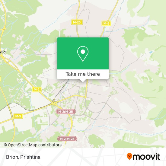 Brion map