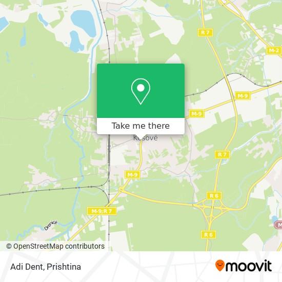 Adi Dent map
