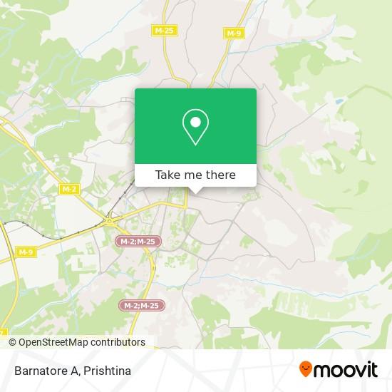 Barnatore A map