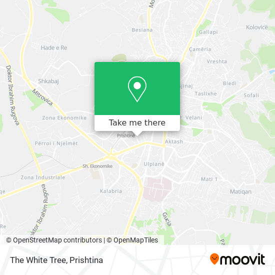 The White Tree map