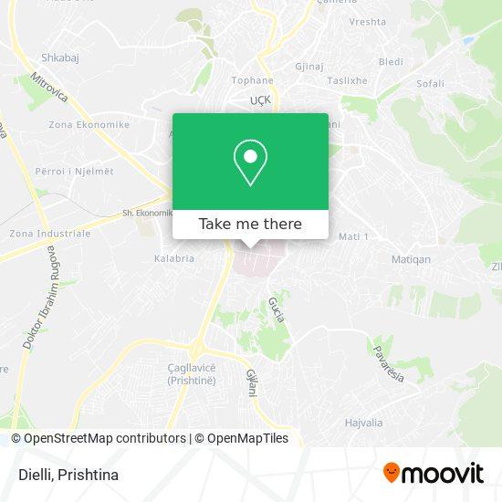 Dielli map