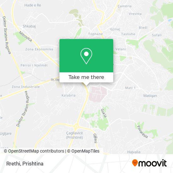 Rrethi map