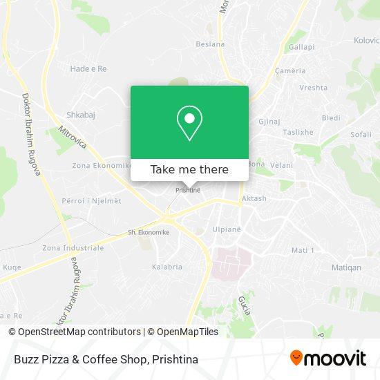 Buzz Pizza & Coffee Shop map