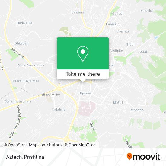 Aztech map