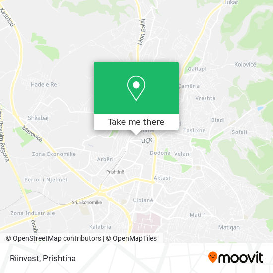 Riinvest map