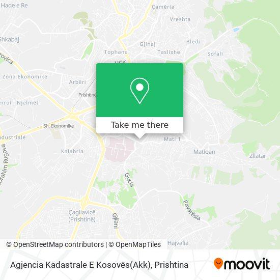 Agjencia Kadastrale E Kosovës(Akk) map