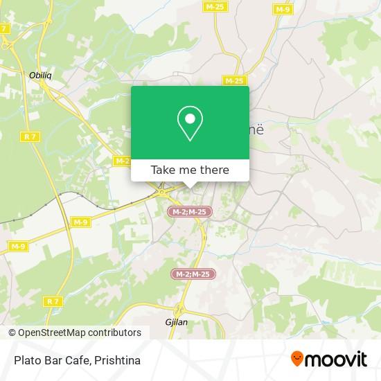 Plato Bar Cafe map
