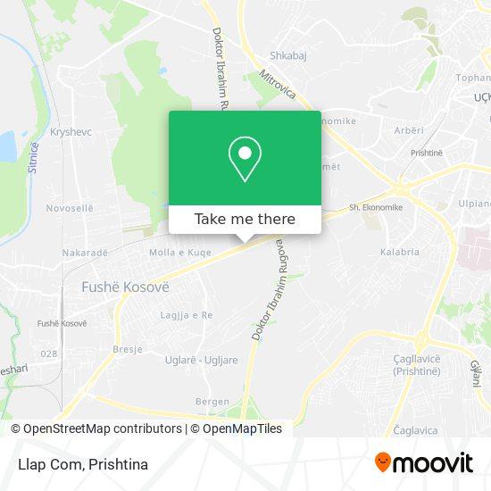 Llap Com map