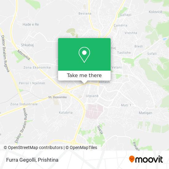 Furra Gegolli map