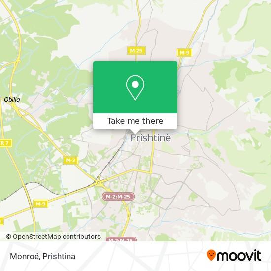 Monroé map