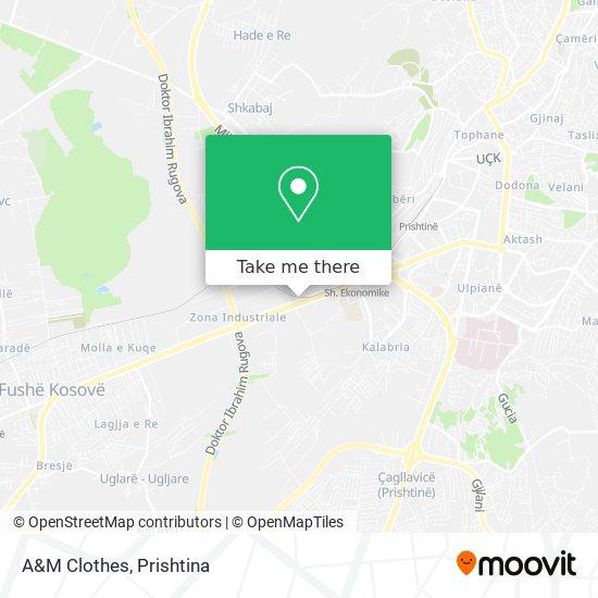 A&M Clothes map