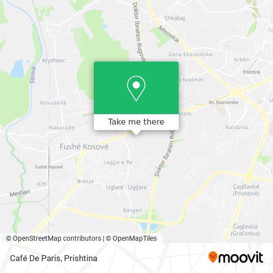 Café De Paris map