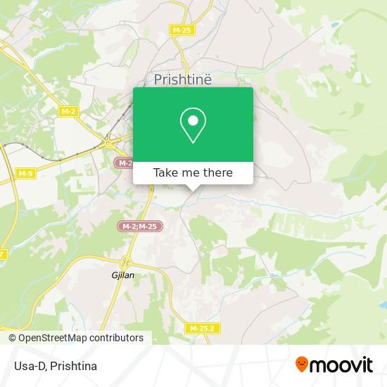 Usa-D map